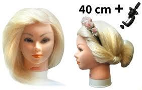 Cvičná Hlava Kiara K Prodlužování Vlasů Střihy účesy Stojan Zdarma