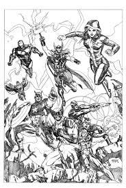 Disegni Da Colorare Di Avengers Fredrotgans