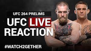 LIVE: UFC 264 REACTION | McGregor vs Poirier 3