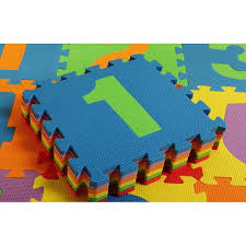 sunta number puzzle carpet baby play mat floor puzzle mat eva children s foam carpet mosaic floor