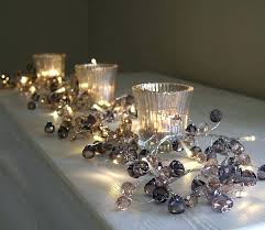 crystal garland for chandelier lovely graphite crystal light garland picture inspirations