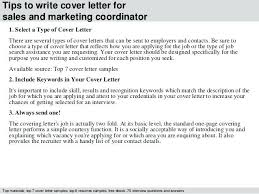 Marketing Sales Cover Letter Marketing Sales Cover Letter Cover