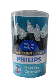 Philips Twinkle Lights Amazon Com Phillips Led Battery Operated C3 Indoor
