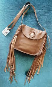 boho bella leather bag