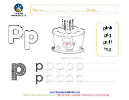 Each sheet provides activities for letter sound learning, letter formation, blending and segmenting. Jolly Phonics Worksheet P The Kids Worksheets