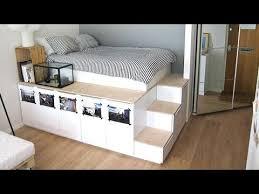 Superb Ikea Bed Platform For Magnificent Ikea Hack Platform Bed Diy Youtube