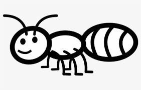 View Outline Cute Ant Clipart Black And White Gif