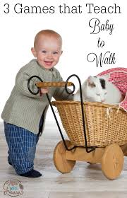 these 3 little games with teach your baby to walk so fun baby