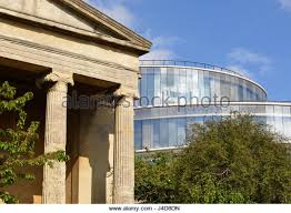 Contemporary Modern Architecture Oxford Classical Building Contrasting With To Decor