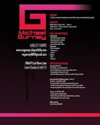 Graphic Artist Resume Design Resume Template