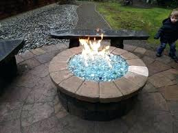 fire pit glass rocks propane fire pit glass rocks propane fire pit with glass can build