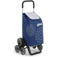 <b>Сумка</b>-<b>тележка Gimi Tris Floral</b> (Трис Флорал), цвет синий купить ...