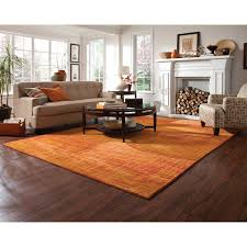 Orange Rug Living Room Pantone Universe Expressions Abstract Orange Area Rug Reviews