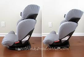 thanks mail carrier  maxicosi rodifix booster seat review