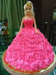 12 Barbie Birthday Cakes For Girls Photo Barbie Birthday Cake