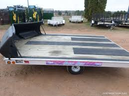 The best snowmobile trailers for your applications. Sled Bed Snowmobile 2 Place 8 6 X 11 250gm833 Gold Medal Trailer Sales In Merrill Wi Wisconsin