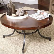 barrow round cocktail table la z boy