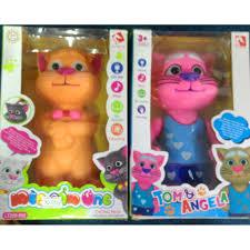 đồ chơi cho bé vui nhộn Mèo talking Tom Thông Minh Biết Kể Chuyện Nhại  Tiếng Cảm Ứng