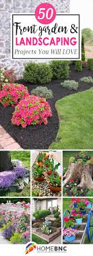 Planter Boxes Front Garden Ideas Homebnc 50 Best Front Yard Landscaping Ideas And Garden Designs For 2019