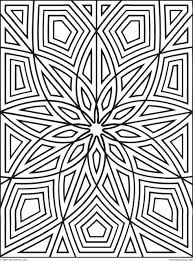 Get This Printable Geometric Coloring Pages for Adults - 14756 !