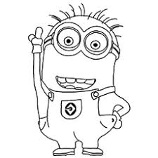 So many minion coloring pages, awaiting despicable me 3. 35 Cute Minions Coloring Pages For Your Toddler