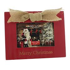 xma01618 merry wooden photo frame