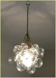 glass bubble chandelier diy free lights lamps gold branching chandeliers modern lighting f