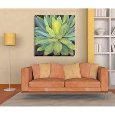 >shop havenside home portfolio canvas decor agave large printed  havenside home portfolio canvas decor x27 agave x27 large printed canvas