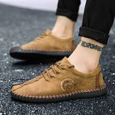 yealon leather shoes leather shoes for men casual leather shoes for men cow leather shoes for men men fashion casual shoes men leather flats shoes for men