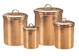 Designer Kitchen Canister Sets Small Copper Kitchen Accessories Quicuacom