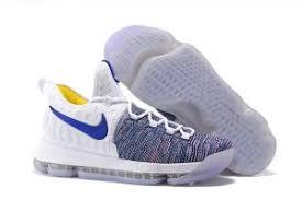 nike basketball shoes 2017 kd. nike kd 9 warriors white blue grey men\u0027s basketball shoes 2016 release 2017 kd