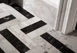 Exellent Black And White Tile Floor Patterns For Bathroom Design Flooring Inside