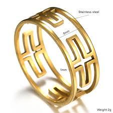 Новое <b>кольцо</b> из титанового Креста для христианских женщин и ...