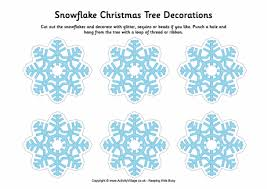 55 Homemade Christmas Ornaments  DIY Crafts With Christmas Tree Snowflakes For Christmas Tree