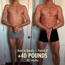 Patricks 40 Pound Tall Skinny Guy Transformation