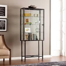 display cabinet with glass doors within harper blvd metal sliding door free designs 14
