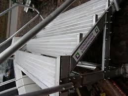 Verzinkte ausführung mit beidseitigem handlauf und großem podest. Treppe Container Leiter Podest Gerust Containertreppe Eur 399 00 Picclick De
