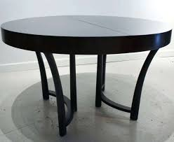 round black dining tables trendy round black