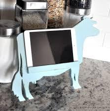 Kitchen Tablet Holder Diy Ipad Or Tablet Holder Way Of The Glue Gun