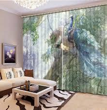 Peacock Living Room Decor Popular Peacock Bedroom Decor Buy Cheap Peacock Bedroom Decor Lots