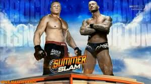 wwe summerslam 2016 brock lesnar vs randy orton official match card