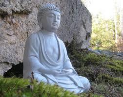garden buddha statues. Buddha Statue, Meditating Buddha, Buddhist Concrete Statues, Oriental Garden, Figurine, Garden Statues S