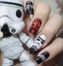 5 star nail designs ~ Beautify themselves with sweet nails