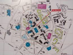 george mason university campus map and transportation to nation's