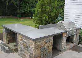 groß concrete countertops for outdoor kitchen best 25 countertop ideas on diy bar elegant