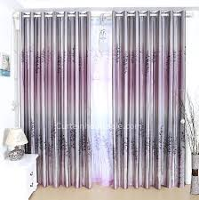 decorative grant gray and purple polyester bedroom curtain printed with lavender pattern grey curtains teal cur