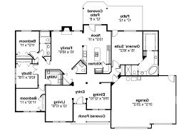 attractive open floor plans ranch style 0