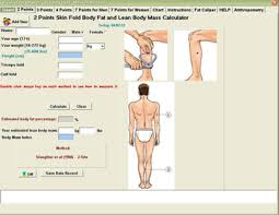 3 Point Body Fat Caliper Chart Free Body Fat Calculator Software Buy Skinfold Caliper Product On Alibaba Com