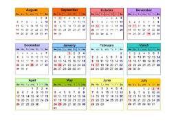 June July 2020 Calendar Planner Calendar August 2019 July 2020 By Msabart Tpt