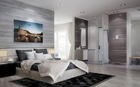 Lovely Impressive Master Bedroom With Open Bathroom Open Bathroom Concept For  Master Bedrooms